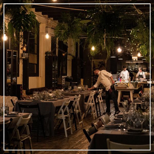 Xavi Morón's restaurant in El Raval, Barcelona
